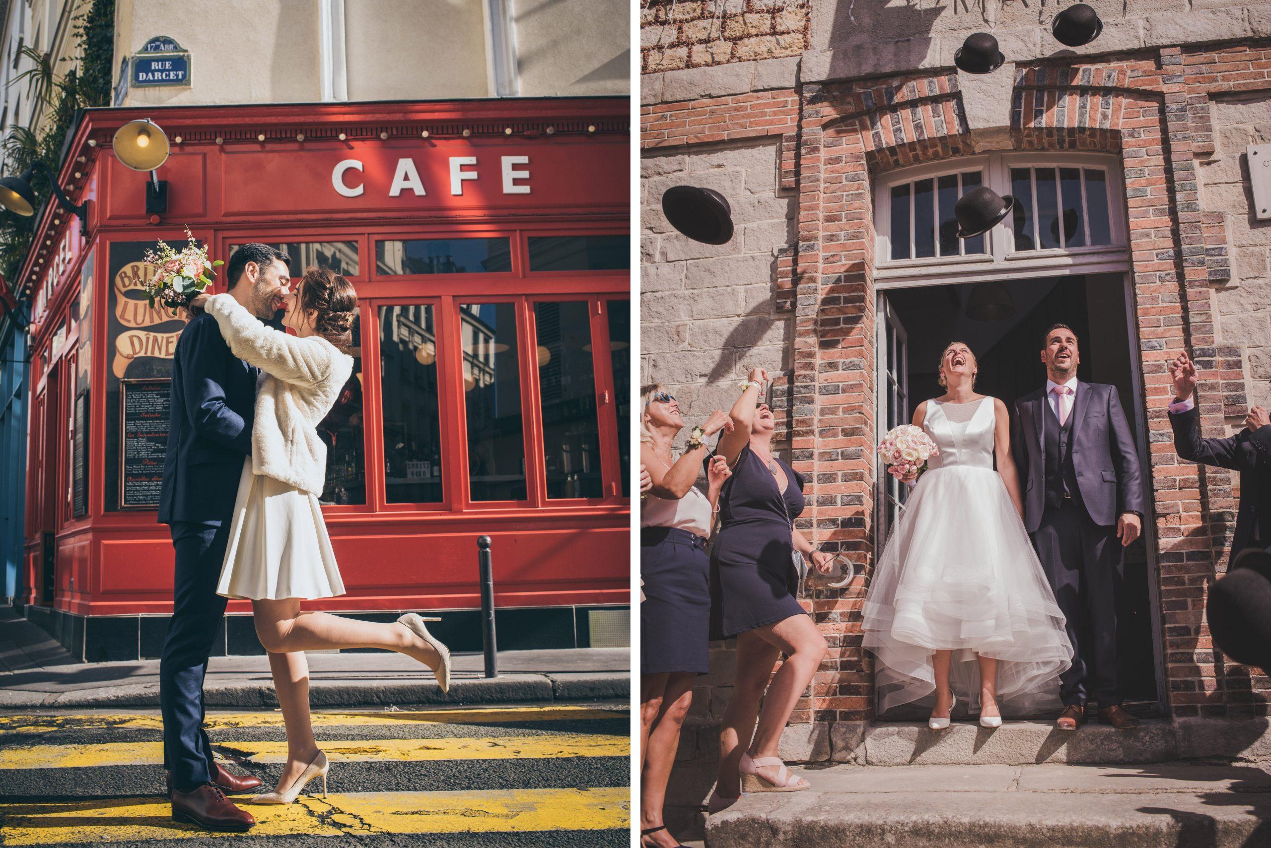 mariage café