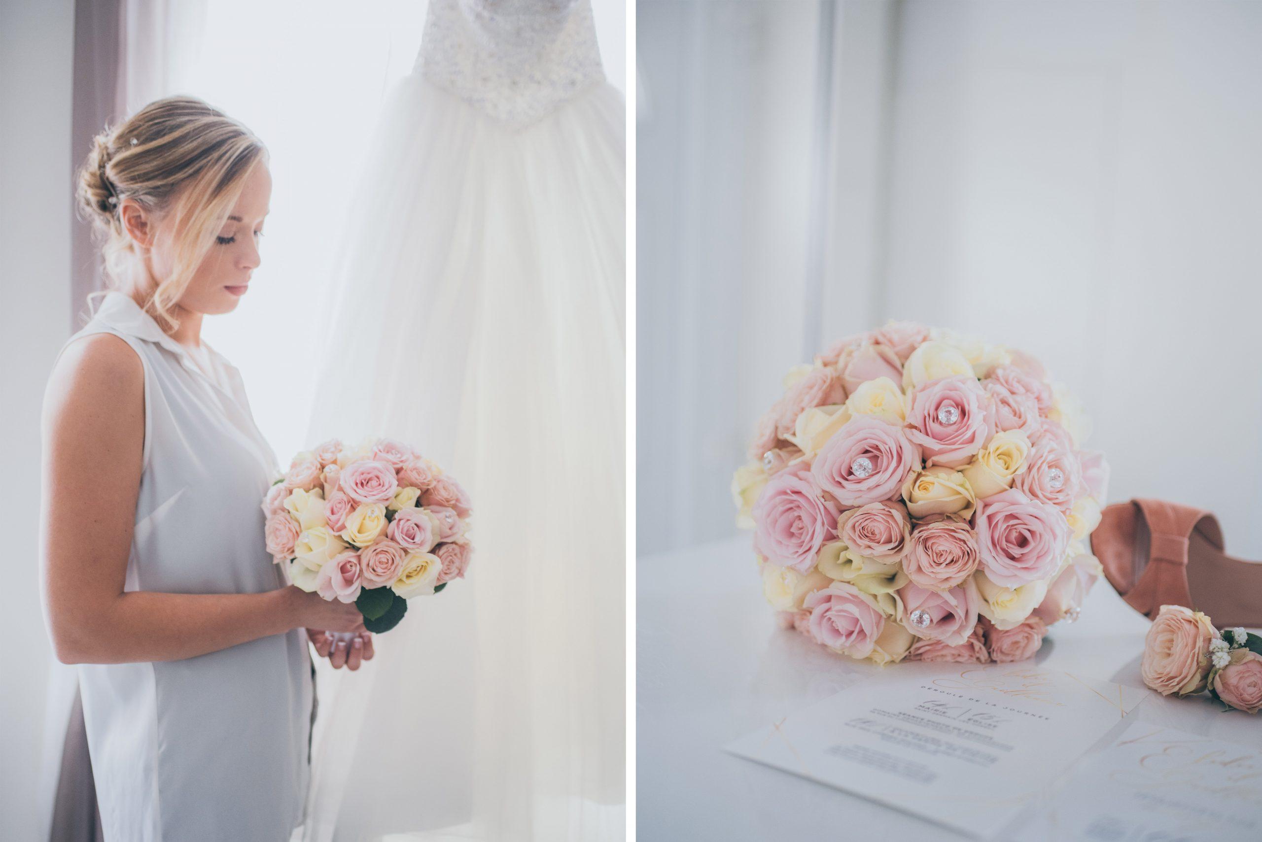 mariage préparatif fleur
